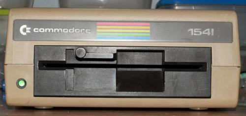 Commodore 1541 floppy disk front