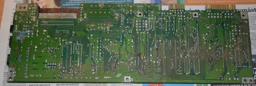 Commodore 64 motherboard rusty and dusty 5