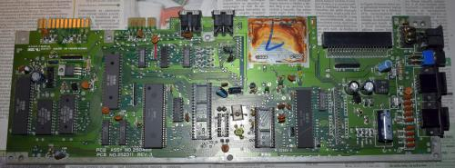 Commodore 64 motherboard after cleaning 1