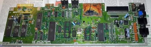 Commodore 64 motherboard aftert cleaning 2